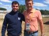 Con el campeón mundial Jeroen Dubbeldam
