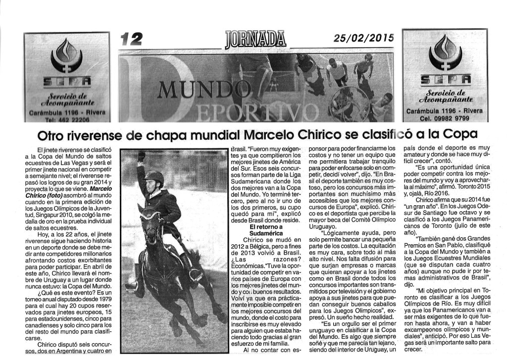 Diario Jornada 250215